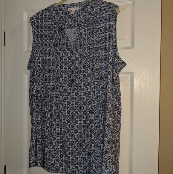 fc3648bafdb EUC Westport Dress Barn plus size tank top Size 1X